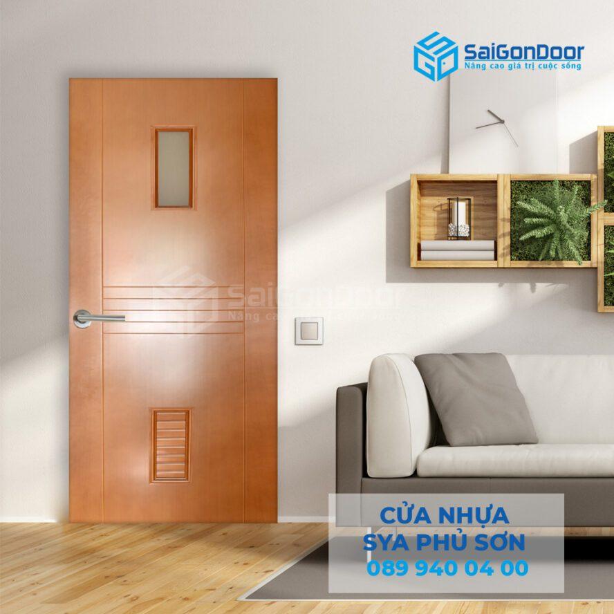 Các dòng cửa nhựa composite thường dùng làm cửa phòng ngủ