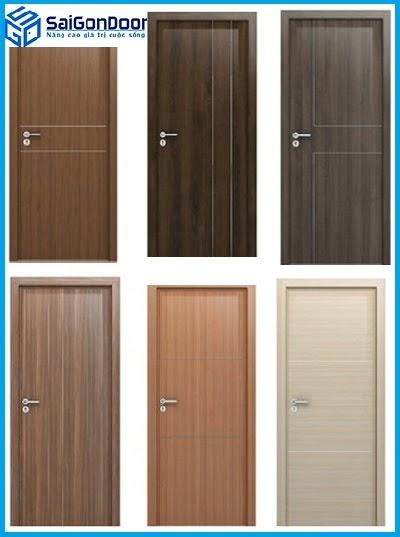 Những mẫu cửa gỗ MDF Laminate Saigondoor