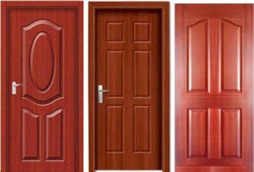 Cửa gỗ HDF Veneer cao cấp có giá nhỉnh hơn chút so với cửa gỗ HDF sơn đơn màu