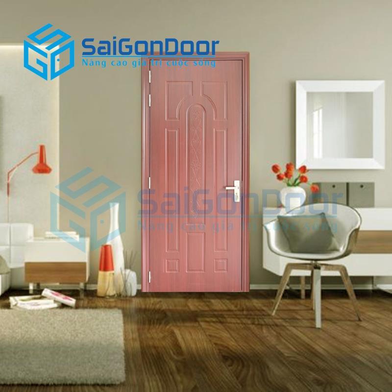 Cửa gỗ nhựa composite được ứng dụng rất rộng rãi trong cuộc sống
