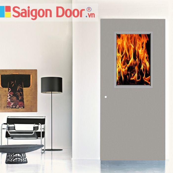 Những ưu điểm vượt trội của cửa thép chống cháy