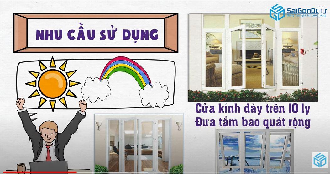 Một số lưu ý cơ bản khi chọn cửa cho ngôi nhà của bạn - SAIGONDOOR