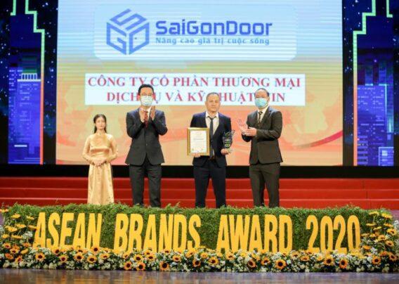 Lễ công bố TOP thương hiệu mạnh ASEAN – SAIGONDOOR
