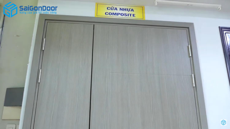 Giới thiệu cửa nhựa gỗ composite mẹ bồng con
