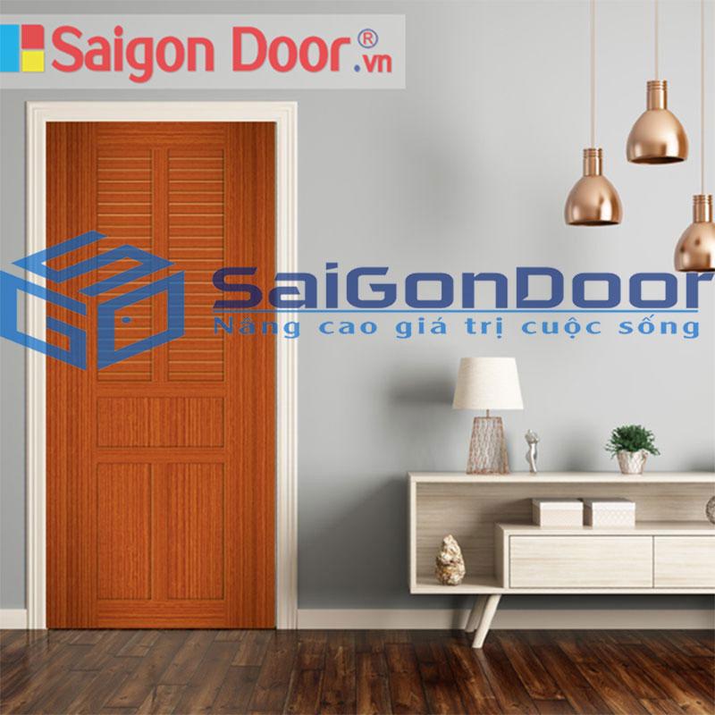 Cửa gỗ giả gỗ giá rẻ có công năng sử dụng cao