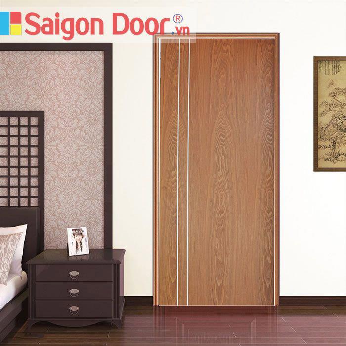 Cửa nhựa gỗ composite phù hợp với mọi không gian sống