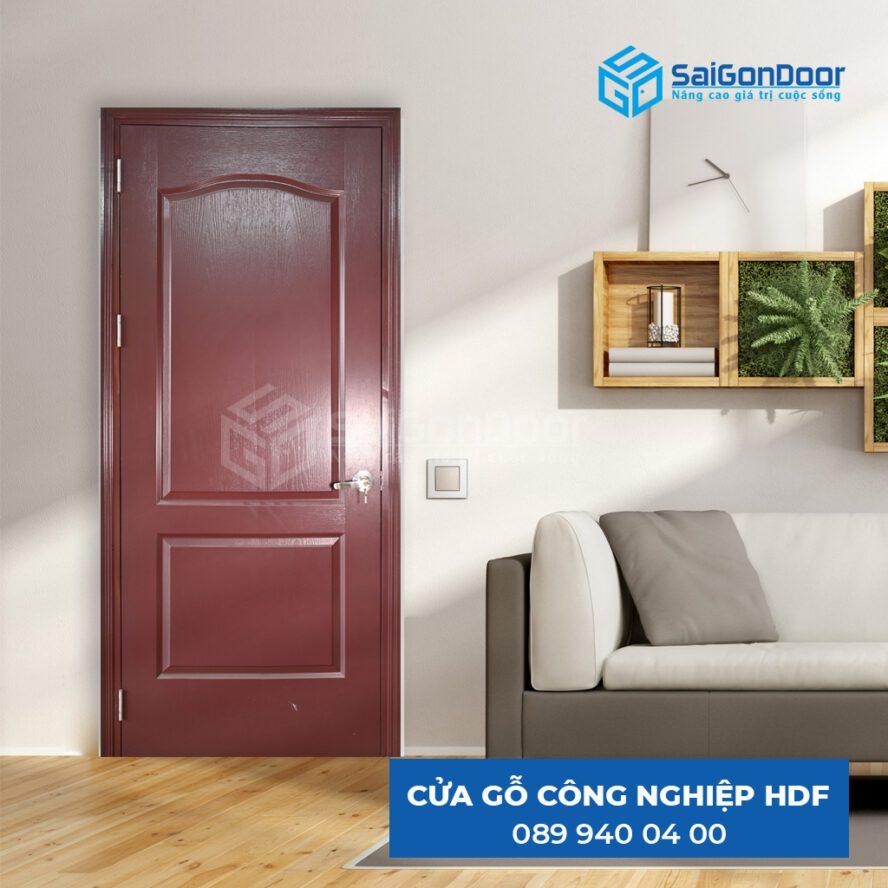 Cửa gỗ HDF có khả năng cách nhiệt cao