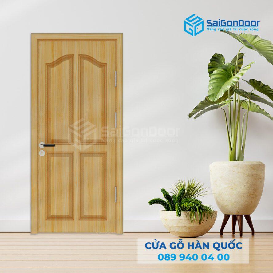 Các mẫu cửa gỗ HDF đẹp