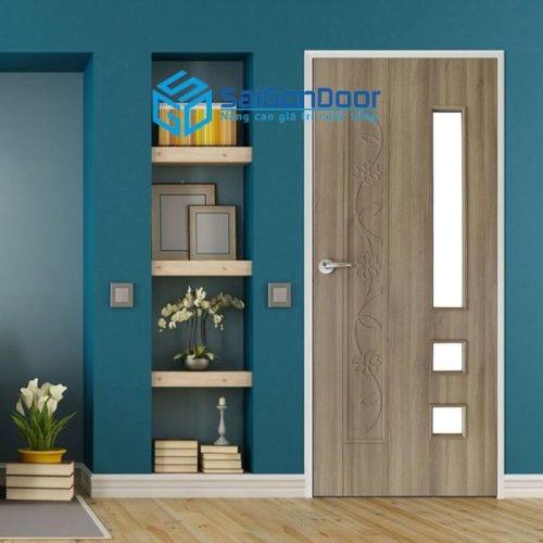 Mẫu cửa gỗ composite
