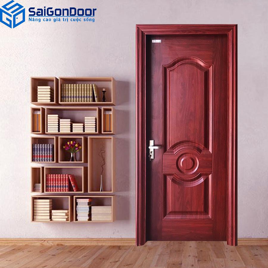 Hướng dẫn chọn mua cửa thép vân gỗ