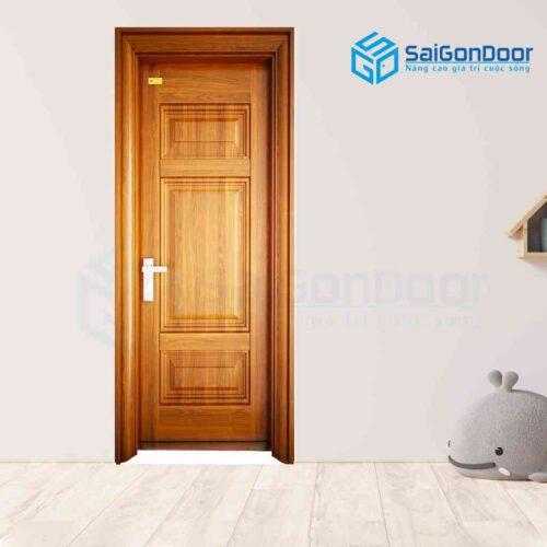 Cửa thép vân gỗ SGD 1H3