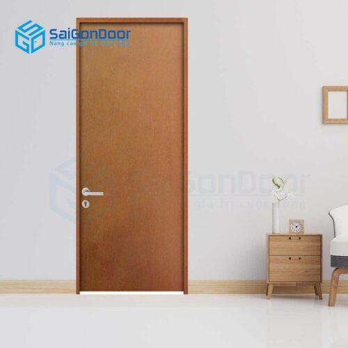 Cửa gỗ giá rẻ SGD Cua go HDF 1P-C13