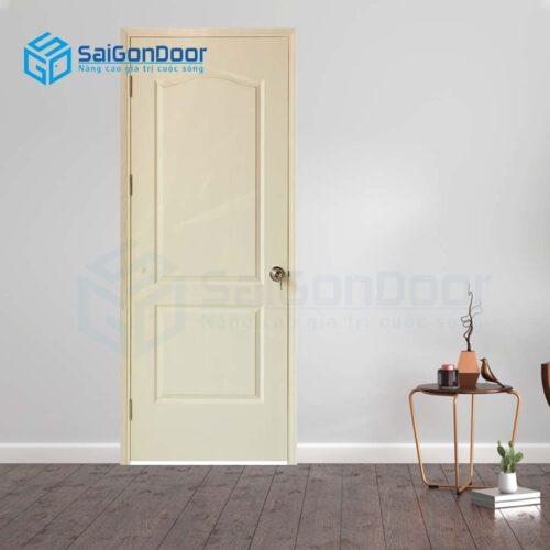 Cửa gỗ giá rẻ SGD Cua go HDF 2A-C2 (2)
