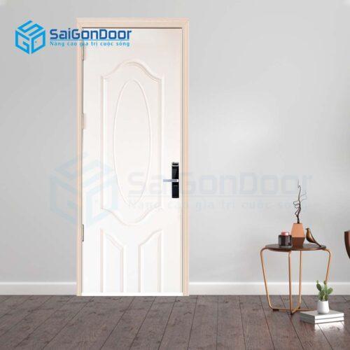 Cửa gỗ giá rẻ SGD Cua go HDF 3A-C1 (2)