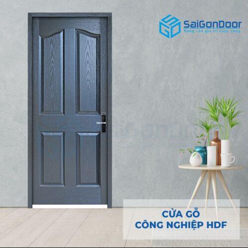 Cửa gỗ công nghiệp HDF 4A-C14 (2)