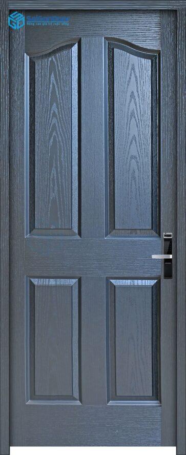 Cửa gỗ giá rẻ SGD HDF 4A-C14 (2)