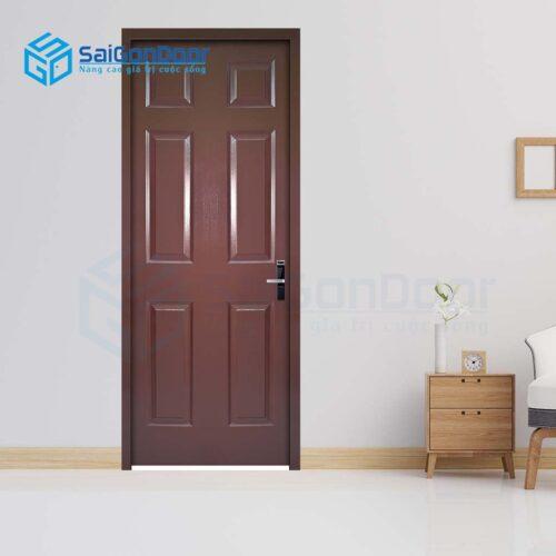 Cửa gỗ giá rẻ SGD HDF 6A-C11