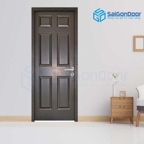 Cửa gỗ cao cấp SaiGonDoor HDF 6A-C14 (2)