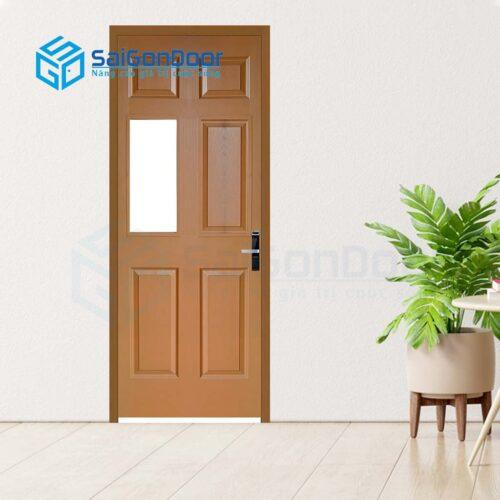 Cửa gỗ phòng khách sạn KS Cua go HDF 6AG1-8
