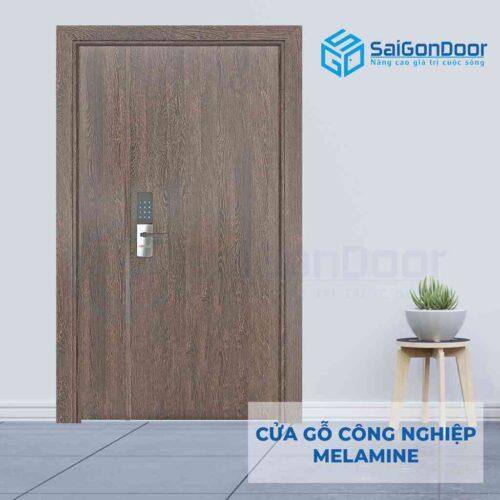 Cửa gỗ công nghiệp MDF Melamine 2P1