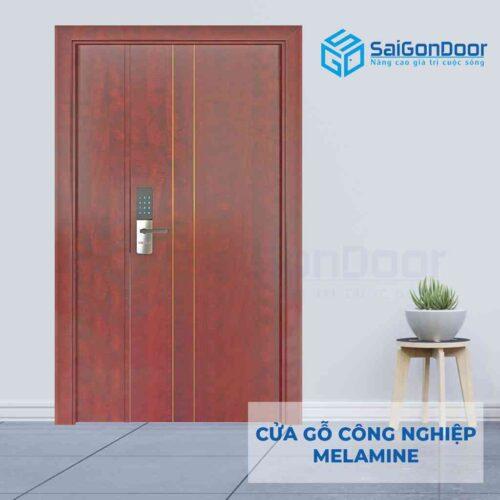 Cửa gỗ công nghiệp MDF Melamine 2P1R2