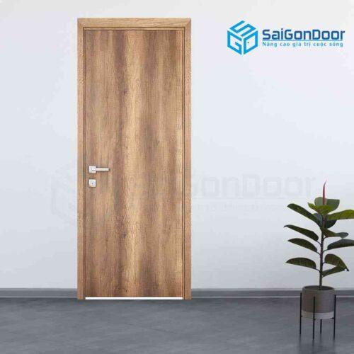 Cửa gỗ cao cấp Hàn Quốc HDF Melammine P1-5