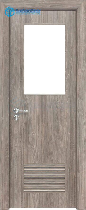 Cửa gỗ nhà vệ sinh HDF Melammine P1GL