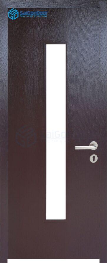 Cửa gỗ phòng khách sạn KS Cua go HDF P1G1-C14
