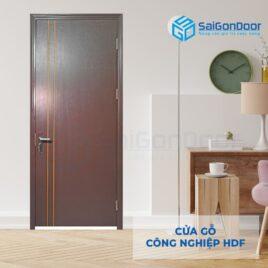 Cửa gỗ công nghiệp HDF P1R2-C13