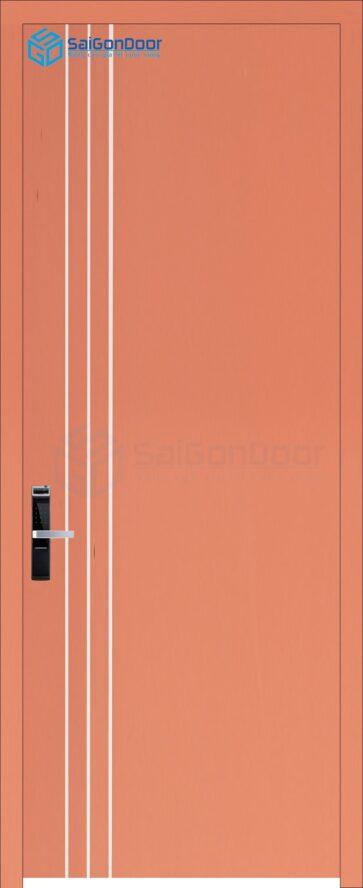 Cửa gỗ phòng khách sạn KS Cua go HDF P1R3-C10