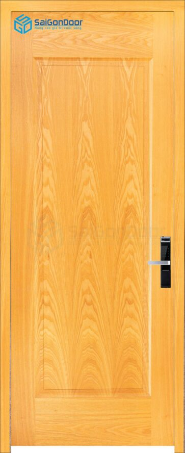 Cửa gỗ phòng khách sạn KS Cua go HDF Veneer 1B-ash