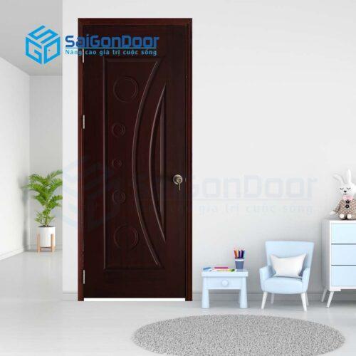 Cửa gỗ phòng khách sạn KS Cua go HDF Veneer 1K cam xe (3)