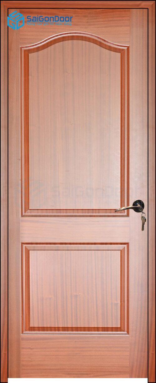 Cửa gỗ phòng ngủ PN HDF Veneer 2A-xoan dao