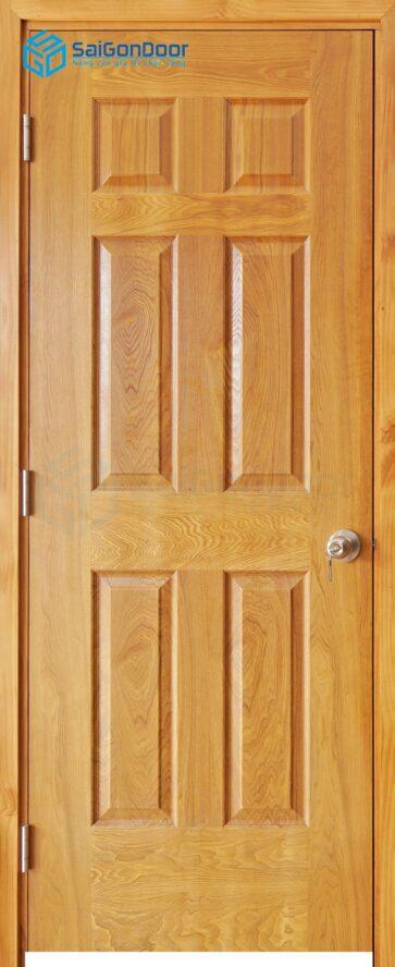 Cửa gỗ nhà vệ sinh HDF Veneer 6A-soi (2)