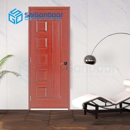 Cửa gỗ nhà tắm SGD Cua go HDF Veneer 6B-cam xe