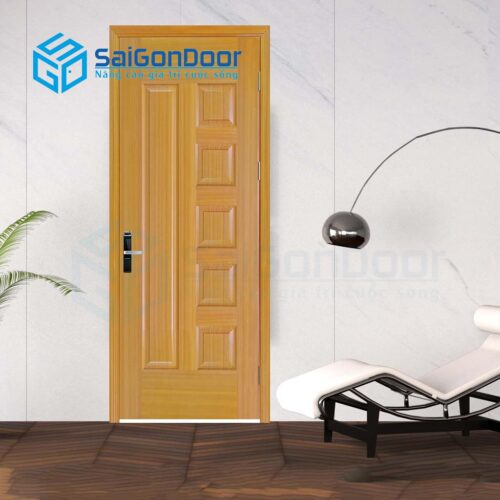 Cửa gỗ nhà tắm SGD Cua go HDF Veneer 6B-sapele (6)