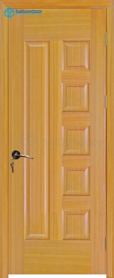 Cửa gỗ công nghiệp HDF Veneer 6B-sapele (7)