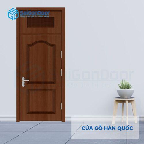 Cửa nhựa Sài Gòn SGD Cua go Han Quoc 2A walnut (1)