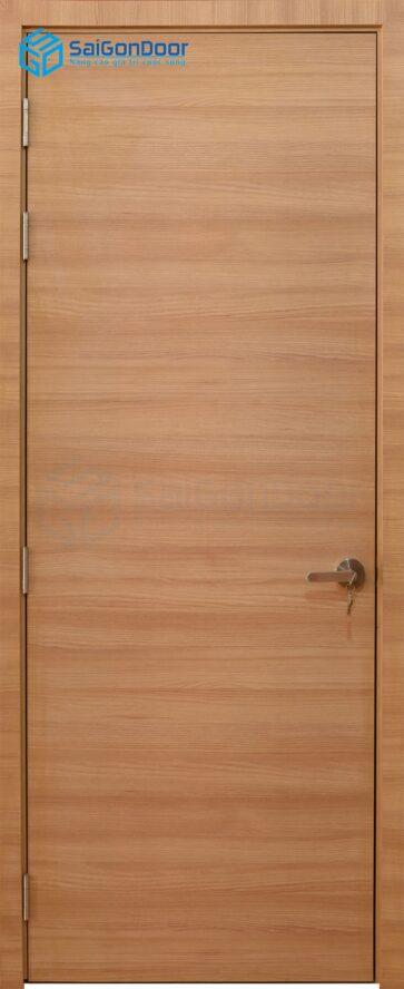Cửa gỗ phòng ngủ PN MDF Laminate P1 van ngang (2)