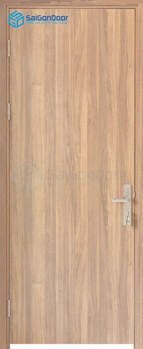 Cửa gỗ nhà vệ sinh MDF Melamine P1