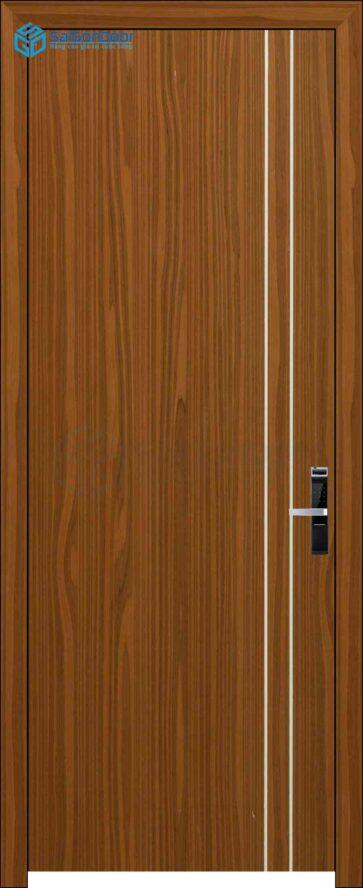 Cửa gỗ công nghiệp MDF Melamine P1R2 son