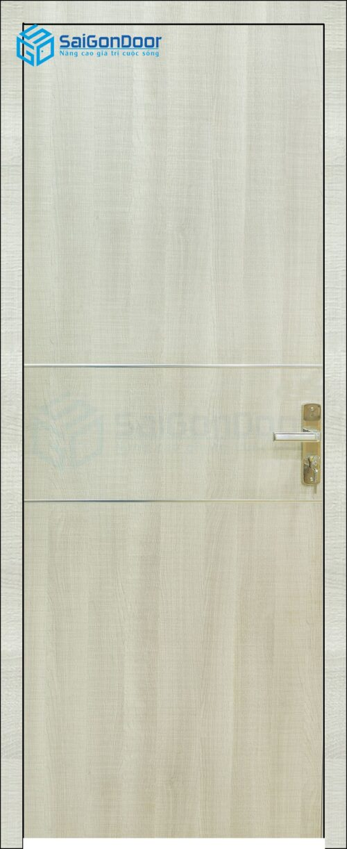 Cửa gỗ phòng ngủ PN MDF Melamine P1R2n