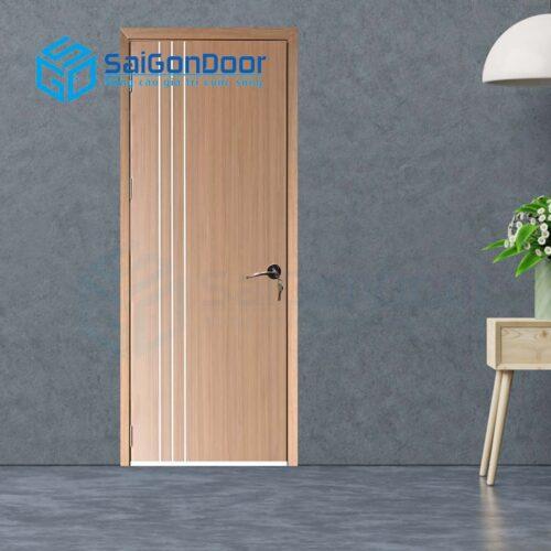 Cửa gỗ nhà tắm SGD Cua go MDF Melamine P1R3-1