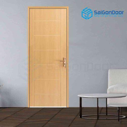 Cửa gỗ cao cấp Hàn Quốc MDF Melamine P1R8