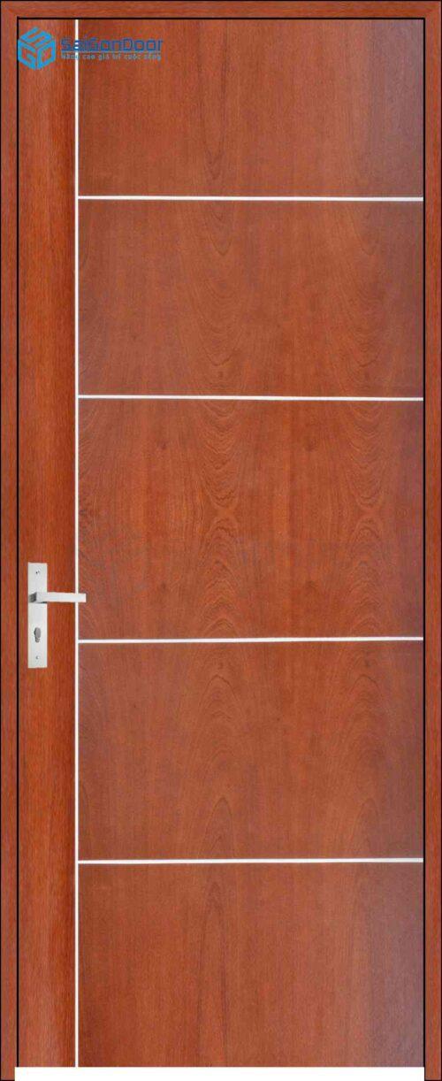 Cửa gỗ công nghiệp MDF Veneer P12R5 (2)