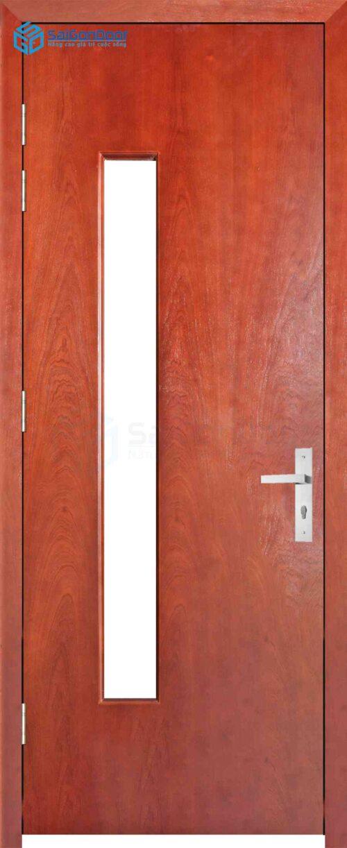Cửa gỗ công nghiệp MDF Veneer P1G1 cam xe (2)