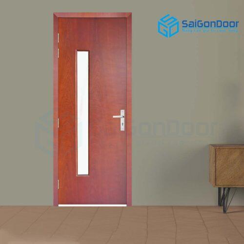 Cửa gỗ cao cấp SaiGonDoor MDF Veneer P1G1