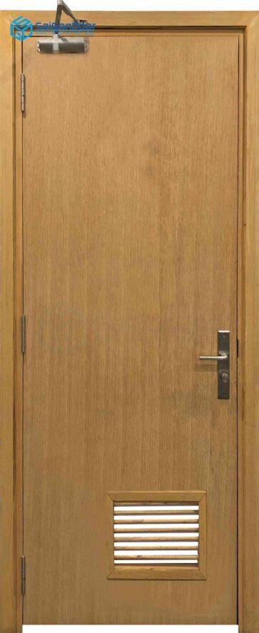 Cửa gỗ công nghiệp MDF Veneer P1L1