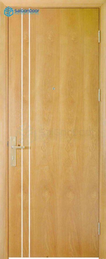 Cửa gỗ phủ nhựa PVC MDF Veneer P1R2 ash (2)