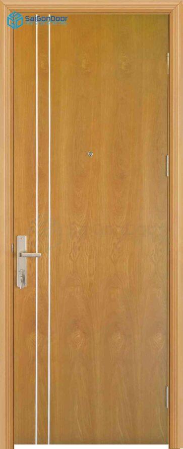 Cửa gỗ phủ nhựa PVC MDF Veneer P1R2 soi (2)